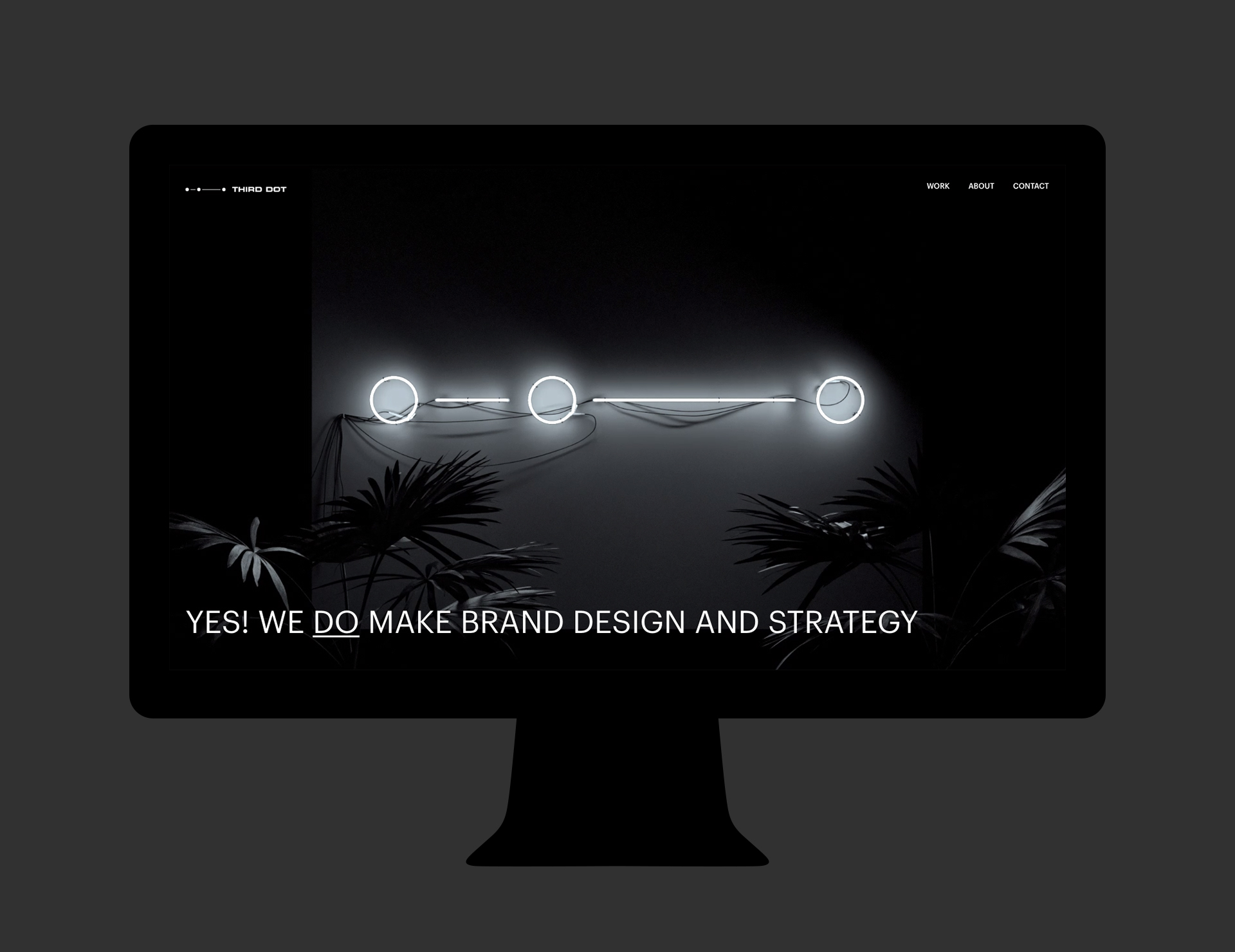 02 Third Dot Web Design Brand Identity desktop frontpage