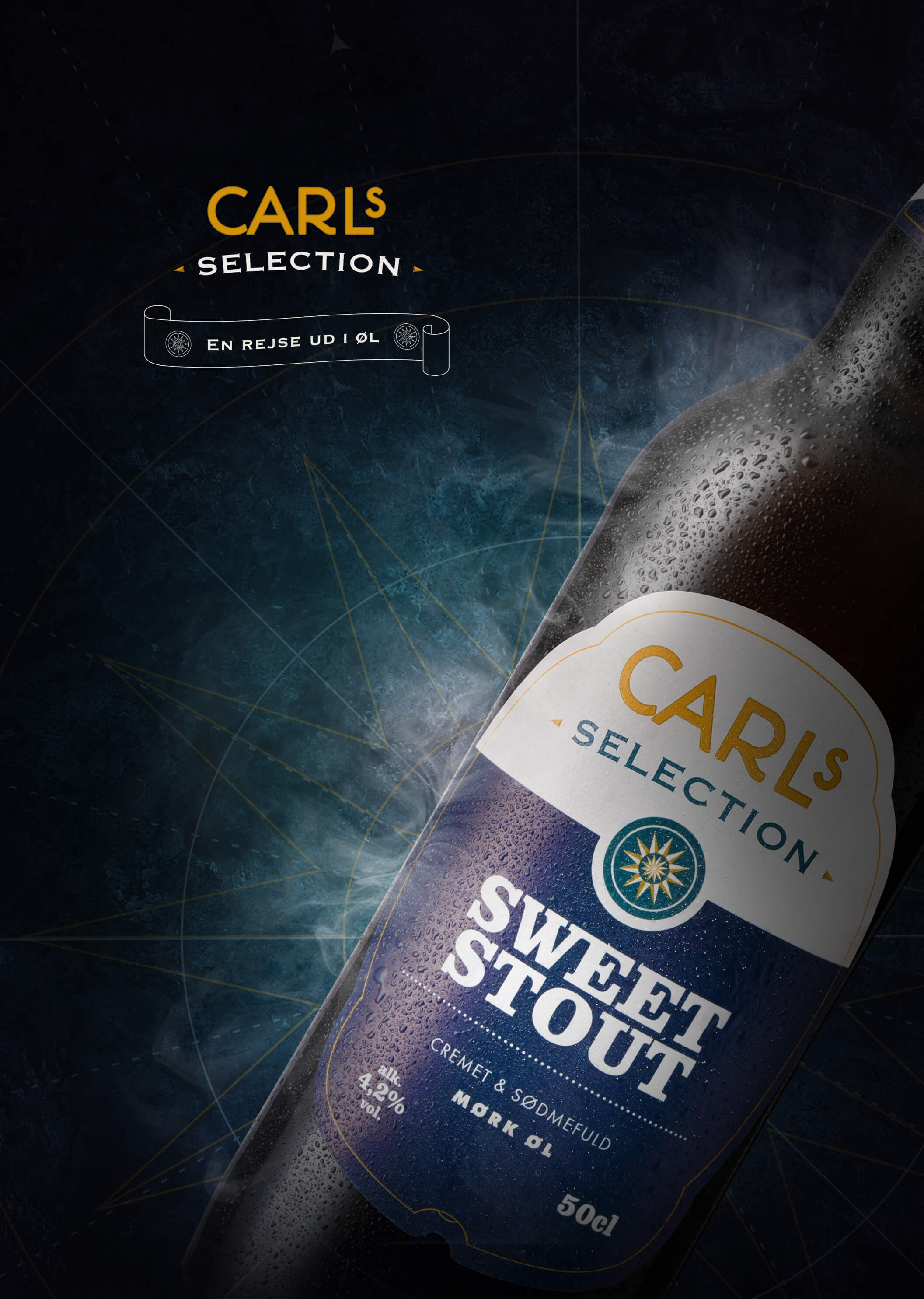 03 Carlsberg Carls Selection Brand Identity Beer Print Key Visual Poster Art Direction