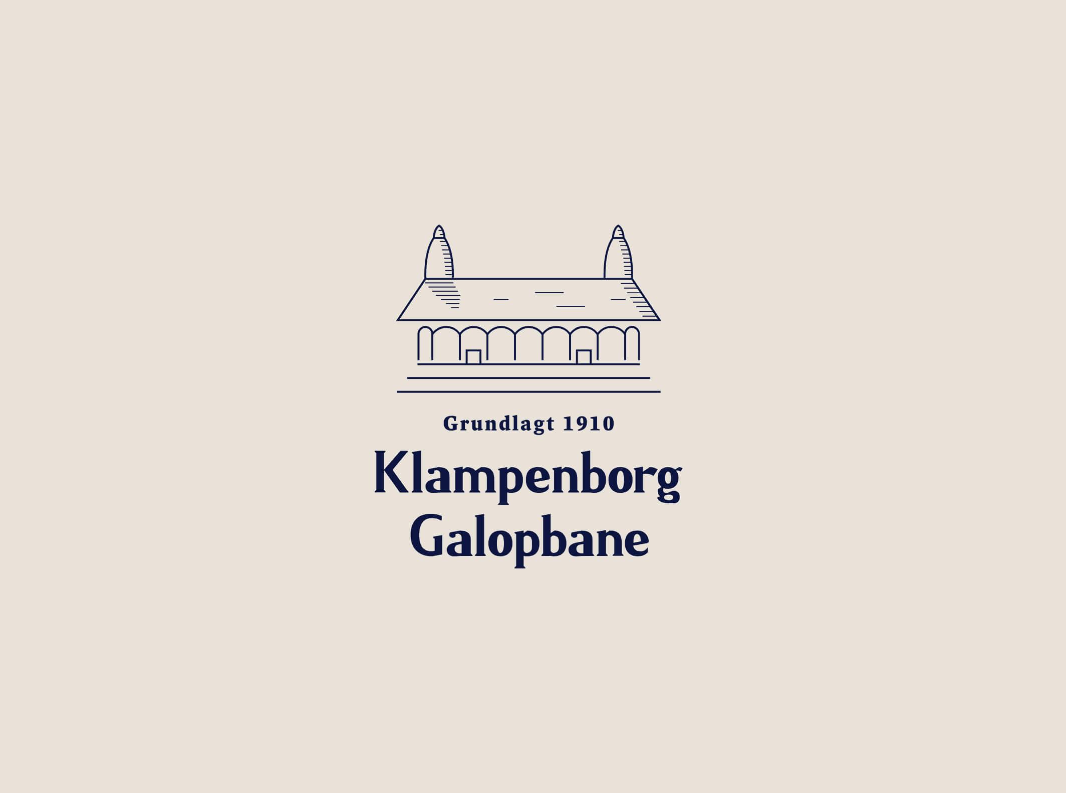 06 Klampenborg Galopbane Brand Design Identity Logo
