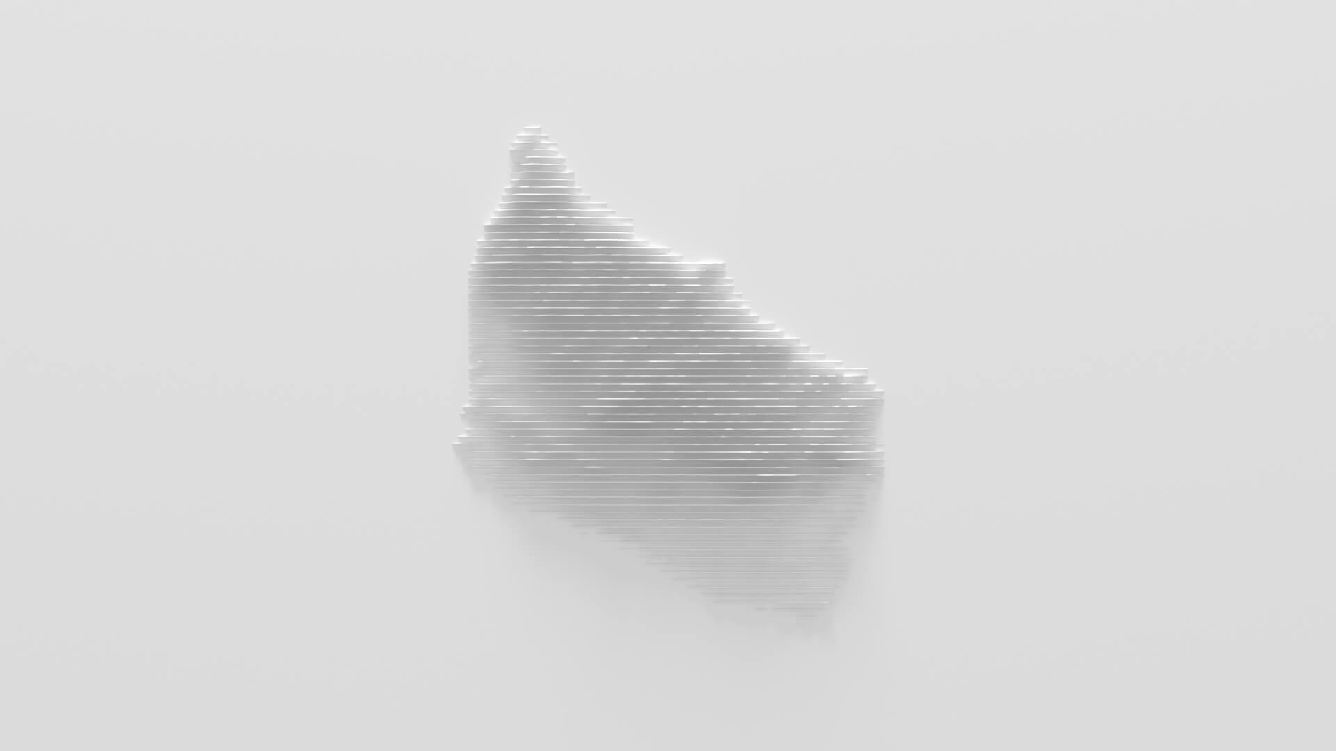 01 Vodka Bornholm Video Commercial 3D Product Island