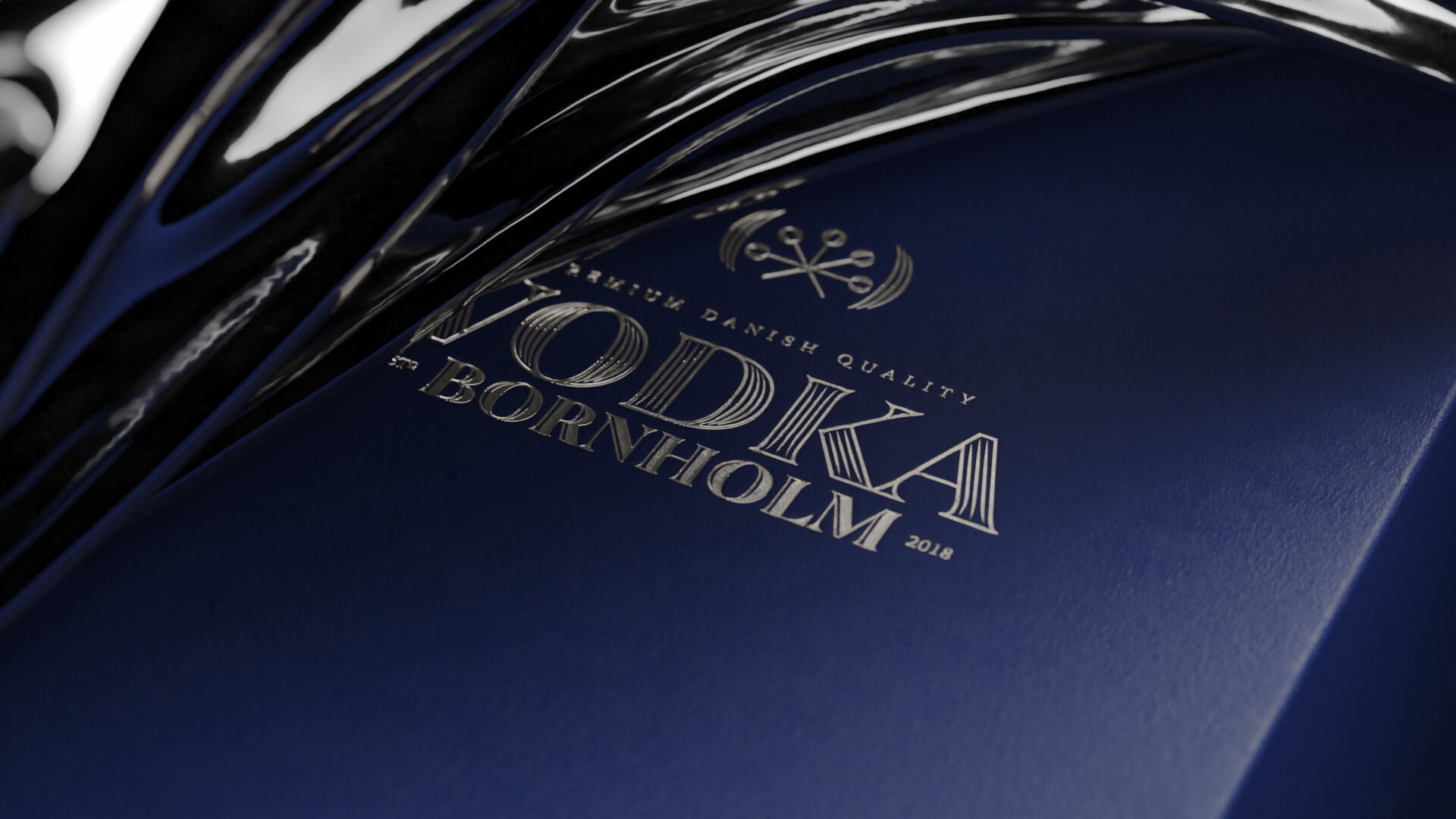 02 Vodka Bornholm Video Commercial 3D Product Vodka Closeup